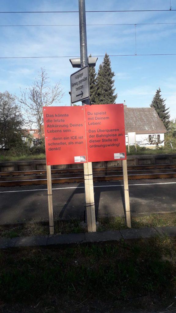Gondelsheim Bahnübergang